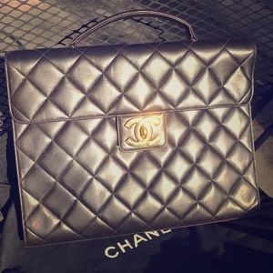 Authentic Chanel Briefcase
